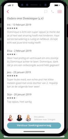 Ontdek de Oppas App van Charly Cares - ratings en reviews