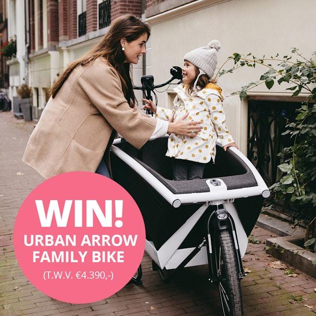 Meld Je Snel Aan Bij Charly Cares En Win Een Urban Arrow Bakfiets